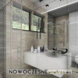projekt nowoczesnej łazienki w krakowie